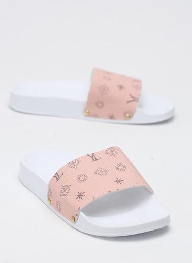 Shoes1441 Terlik Beyaz